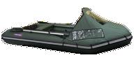 хорошая трехместная лодка пвх