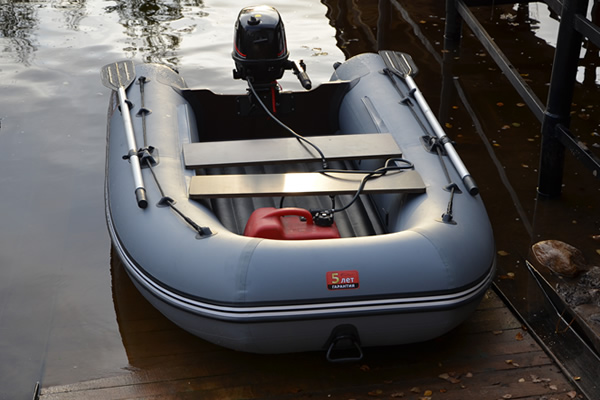 лодка хантер 290 а с надувным дном
